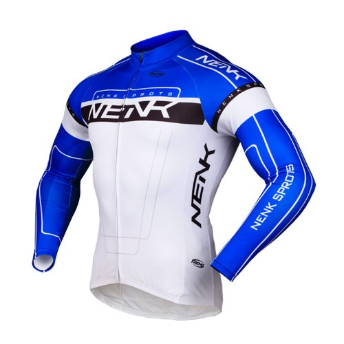sobike-nenk-ciclismo-maillot-mangas-largas-cooree-2-colores-azul-2xl
