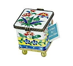 Kelvin Chen Postage Stamp Holder - Floral