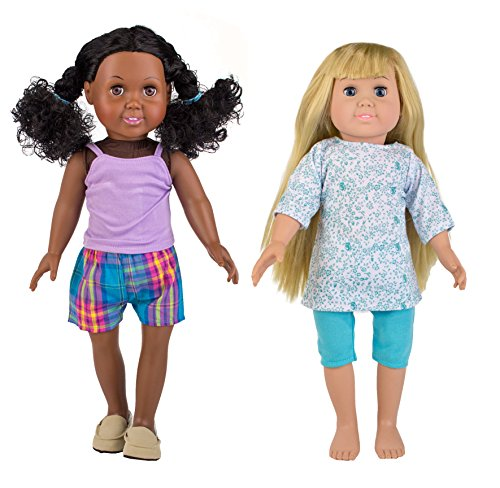Springfield collection by fibre craft sleepover set for Fibre craft 18 inch doll