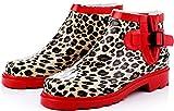 [ポーターポーター]PorterPoter レインブーツ レインシューズ 雨靴 長靴 梅雨 雨 レッド 40 (25.0cm)