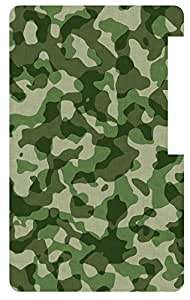 Military Camouflage Fabric Back Cover Case for Apple iPod Nano 7