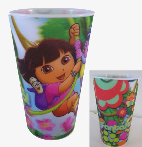 Dora The Explorer 16oz Lenticular Party Tumbler