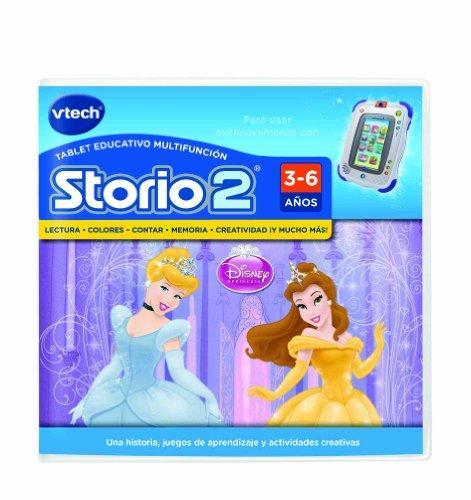 VTech Storio - Juego Princesas para Storio 2, 3S y Storio Max (80-230222)