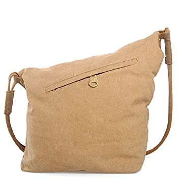 Tom Clovers Women's Men's Canvas Crossbody Messenger Shouder Handbag Tote Weekender Bag