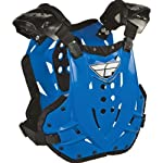 Fly Racing Stingray Adult Roost Guard MotoX/Off-Road/Dirt Bike Motorcycle Body Armor - Blue / One Size