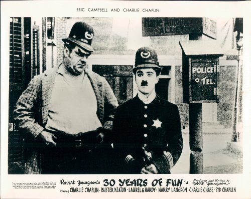 "Eric Campbell and Charlie Chaplin in ""Easy Street"""