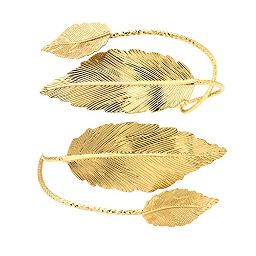 Laurel Upper Arm Cuff Bracelet - Arm Cuff Jewelry for Women