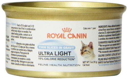 Royal Canin Ultra Light Thin Slices In Gravy