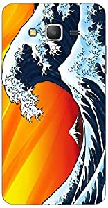 Timpax protective Armor Hard Bumper Back Case Cover. Multicolor printed on 3 Dimensional case with latest & finest graphic design art. Compatible with Samsung Galaxy Grand 2 - 7106/7105 Design No : TDZ-23722