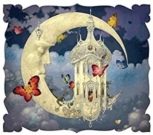 Artifact Puzzles - Daniel Merriam Man in the Moon Limited Edition Wooden Jigsaw Puzzle