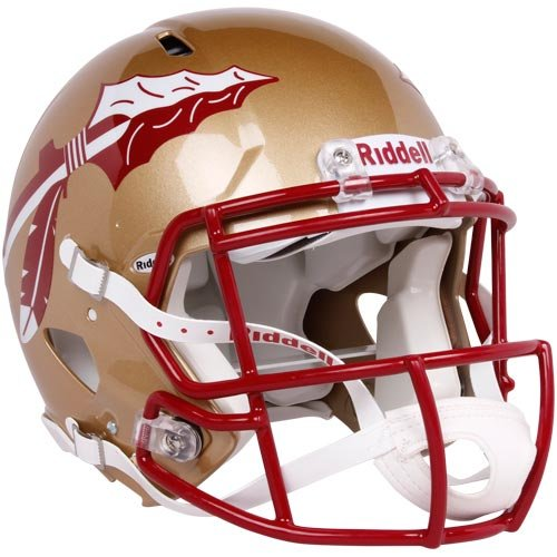 Riddell Sports NCAA Florida State Seminoles Speed Authentic Helmet Gold