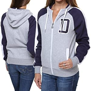 Dallas Cowboys Clover FZ Fleece by Dallas Cowboys Merchandising