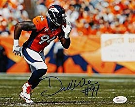 Signed DeMarcus Ware Photograph - 8x10 - JSA Certified - Autographed NFL Photos