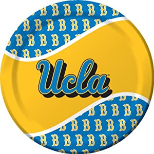 Buy Creative Converting UCLA Bruins Dinner Paper Plates (8 Count) by Creative Converting