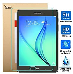 Samsung Galaxy Tab A T550N 9.7 tablet screen protector, VSTN Ultra-thin 9H Hardness Highest Quality HD clear Premium Tempered Glass Screen Protector for Samsung Galaxy Tab A T550N 9.7 inch tablet (1 pcs)