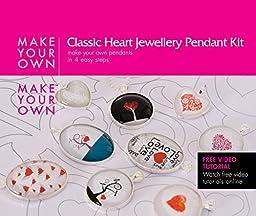 Glaze Make Your Own Jewelry Heart Pendant Kit (Heart)