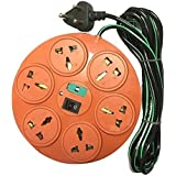 6+1 Sockets Power Strip Extension Cord Board Multi Plug 4Meter Buysasta Deals
