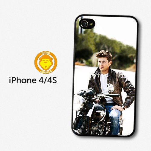 Sale alerts for Micro Gorilla Zac Efron Motorbike Photoshoot case for iPhone 4 4S A1290 - Covvet
