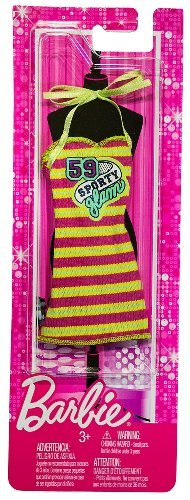 59 Sporty Glam Tube Dress: Barbie Fashionistas Fashion Pack - 1