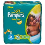 Pampers - Baby Dry - Couches Taille 5...