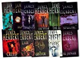 James Herbert James Herbert Collection 11 Books Set Pack RRP: £164.4 (Moon, The Jonah, Haunted, The Spear, The Rats, Lair, The Survivor, Creed, The Fog, Sepulchre, Others)