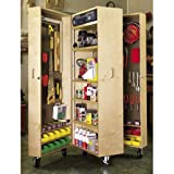Mobile Tool Cabinet: Downloadable Woodworking Plan