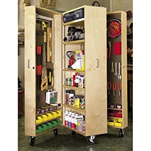 Mobile Tool Cabinet: Downloadable Woodworking Plan [Download: PDF] [Digital]
