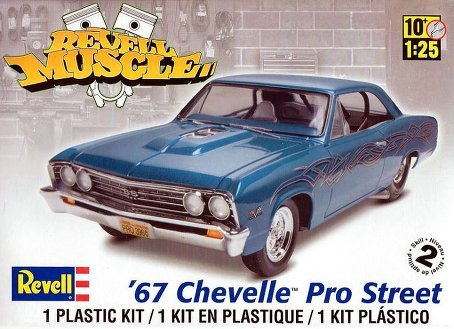 Revell 1967 Chevelle Pro Street (Pro Stock Model Car Kits compare prices)