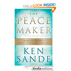 http://www.amazon.com/Peacemaker-Biblical-Resolving-Personal-ebook/dp/B001C34YGU/ref=sr_1_1?ie=UTF8&qid=1383511022&sr=8-1&keywords=the+peacemaker