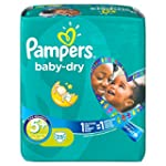 Pampers Baby Dry Size 5+ Junior Plus...
