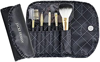 Jacki Design Vintage Allure 5 pc Make Up Brush Set w/ Bag