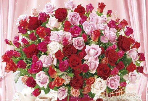 1000ピース 100本のバラ 61-343