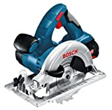 Bosch Professional GKS18V-LI 18V Li-Ion Cordless Circular Saw with 2 x 3Ah Batteries in L-Boxx