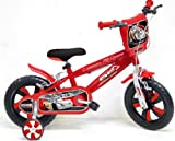 Official 12 Disney Cars Bicycle BMX Bike With Stabilisers