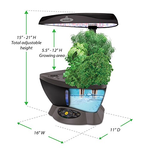 Miracle Gro Aerogarden 6 Led With Gourmet Herb Seed Pod