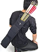 NuoYa001 High-grade Matte Velvet Arrow-back pot Quiver Three fixed-back Archery F Hunting