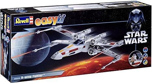 Revell easykit 06656 X-Wing Fighter - Maqueta de la nave espacial de Luke Skywalker de Star Wars