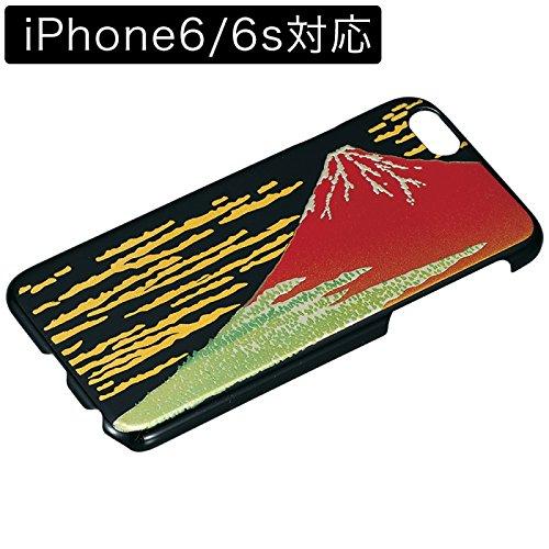 iPhone6 スマホカバー 赤富士