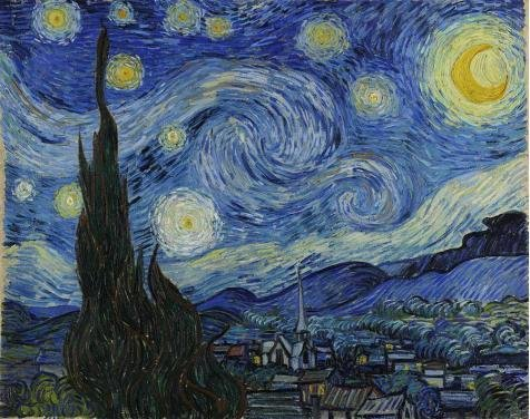 Oil Painting 'Vincent Van Gogh-The Starry Night,1889', 16 x 20 inch / 41 x 51 cm , on High Definition HD canvas prints is for Gifts And Gym, Laundry Room And Nursery Decoration, coupon (Renaissance Painting compare prices)