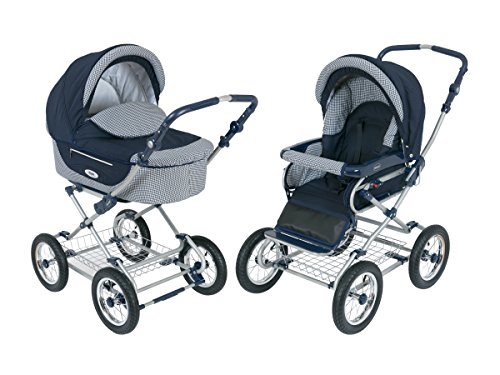 Best Prices! Roan Kortina Classic Pram Stroller 2-in-1 with Bassinet and Seat - Multiple Colors (Dar...