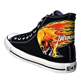 Converse CT ALL Star Chucks Metallica Totenkopf Skull LIMITED Edition Sneaker, shoe size:eur 42