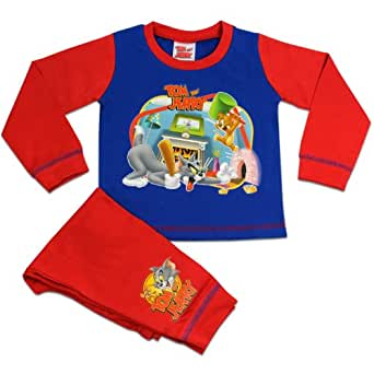Tom und Jerry pyjama | Garcon Tom und Jerry Ensemble de Pyjama | 3 - 4 ans