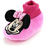 Minnie Mouse Infant Toddler Sock Top Slippers