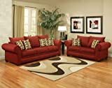 3pc Traditional Modern Fabric Sleeper Sofa Set, CO-CIN-S2