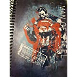 "DC Comics Superman Man Of Steel Spiral Notebook ~ Man Of Steel Premiere (5"" X 7""; 100 Sheets, 200 Pa"