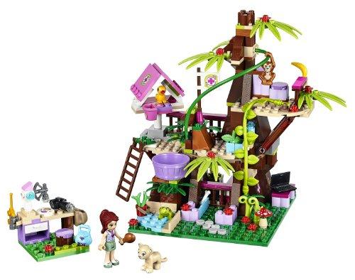 レゴ フレンズ サンクチュアリジャングルツリー 41059