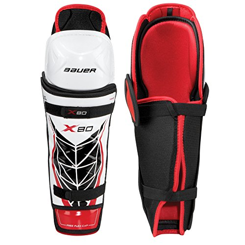 Bauer Vapor X80 Shin Guards [JUNIOR] (Vapor Shin Guards compare prices)