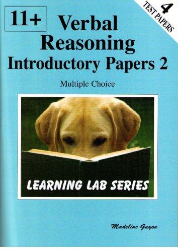 11+ Introductory Practice Papers: Bk. 2: Verbal Reasoning Multiple Choice