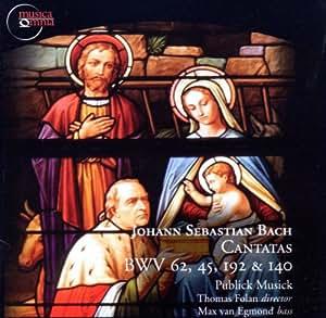 J.S. Bach - Cantatas BWV 62,45,192 & 140