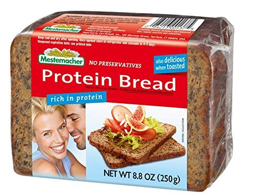 Mestemacher Protein Bread, 8.8 Ounce (Pack of 9) by Mestemacher (Protein Bread compare prices)
